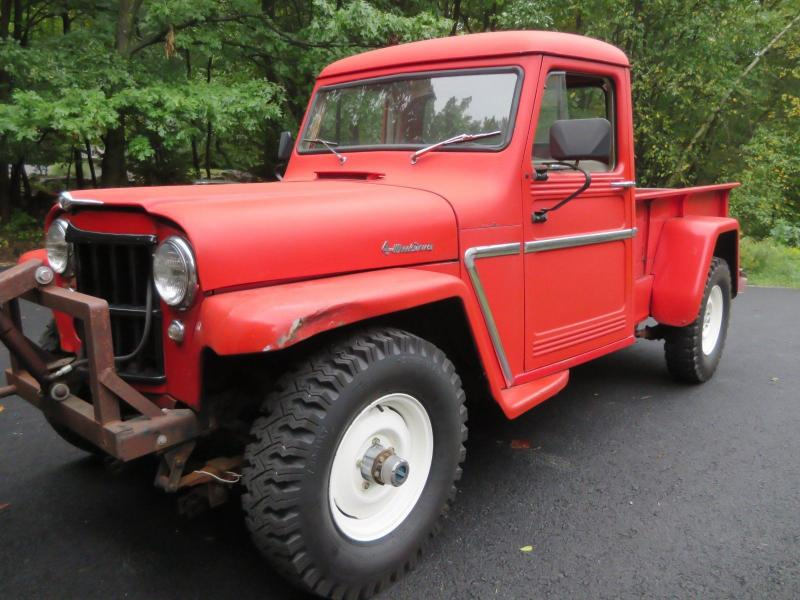Cars - 1963 Willys Jeep Station Wagon