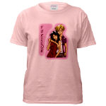 Yuriko and Midori Pink T-shirt