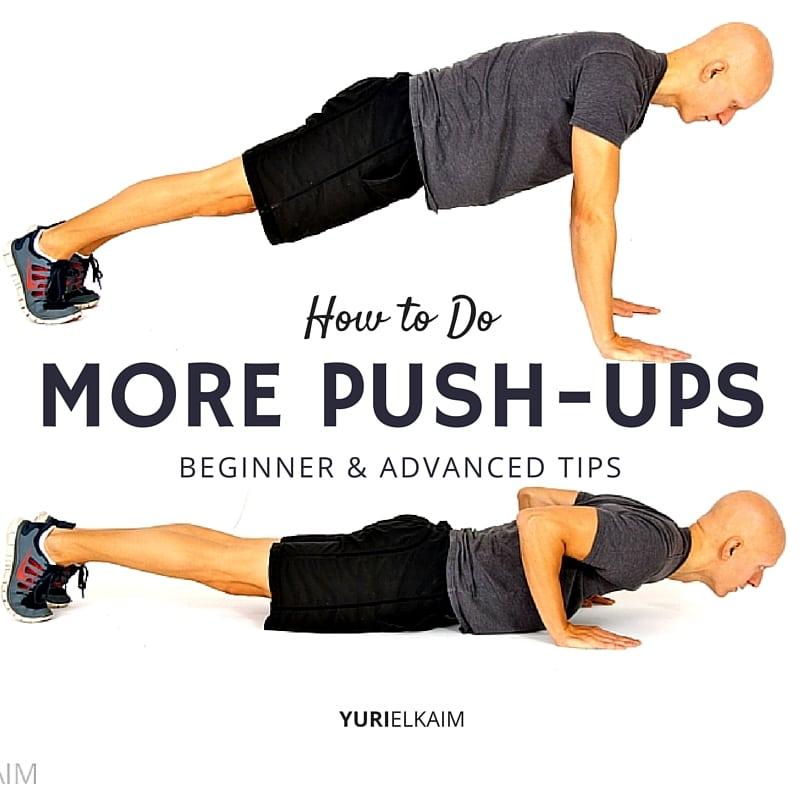 How to Do More Push-ups (Free Training Plan) Yuri Elkaim