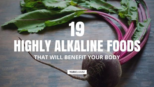 19 Highly Alkaline Foods That Will Benefit Your Body