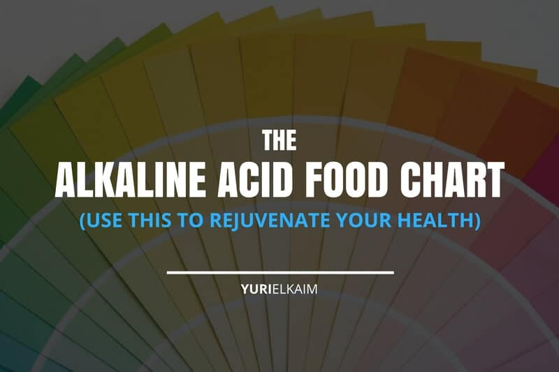 The Alkaline Acid Food Chart (Use This to Rejuvenate Your Health