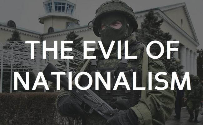 postheader - Evil of nationalism