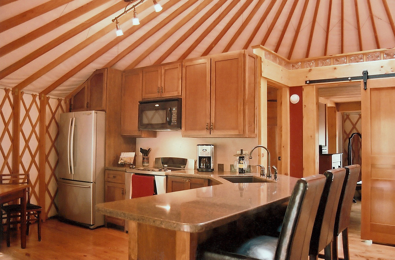 Interiors Ideas Yurt Interiors Pacific Yurts