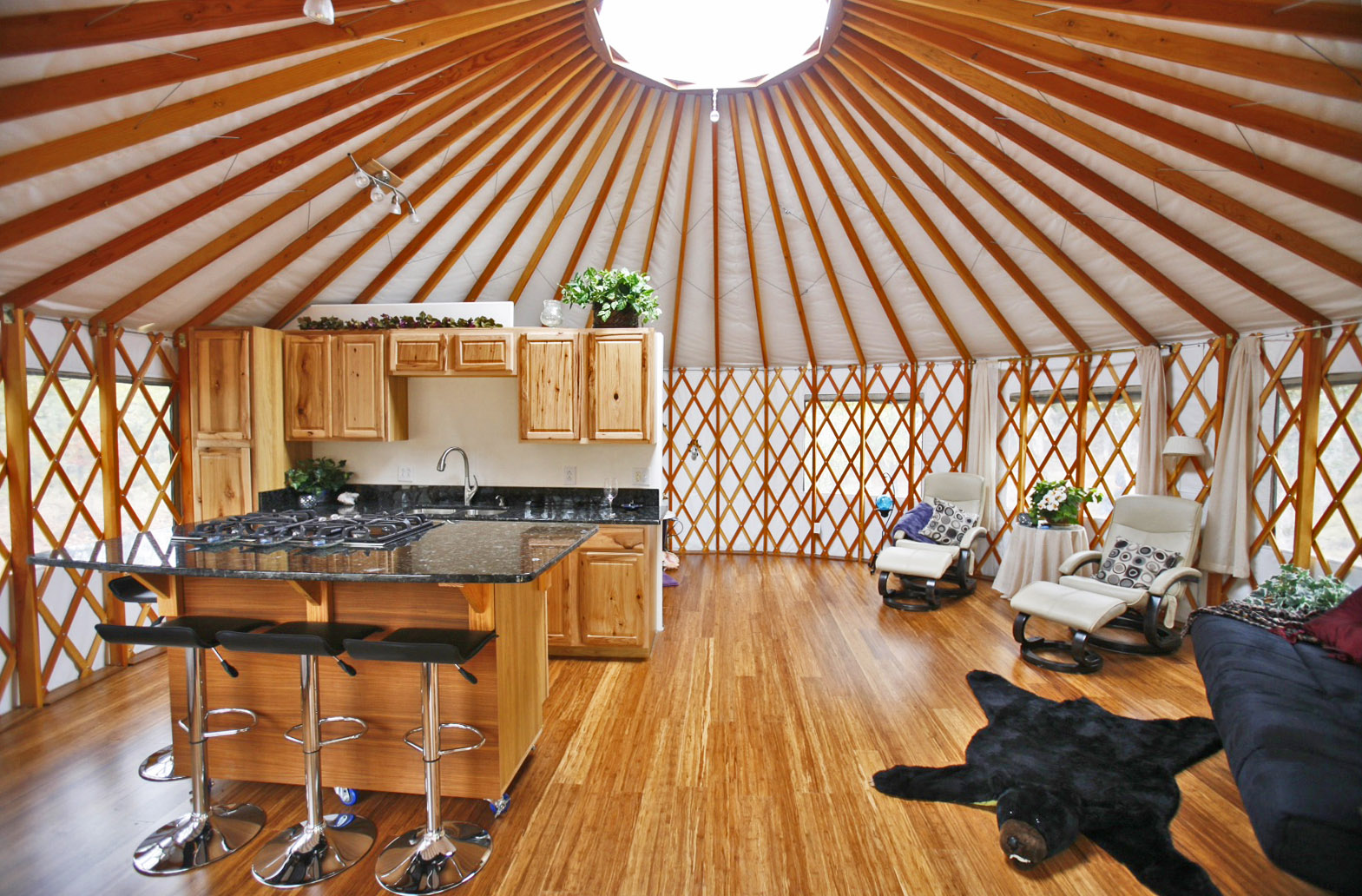 Home Interiors Decorating Ideas Yurt Home Decorating Ideas Pacific Yurts