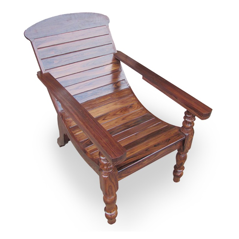 Easy Chair Full Wood Yuthika