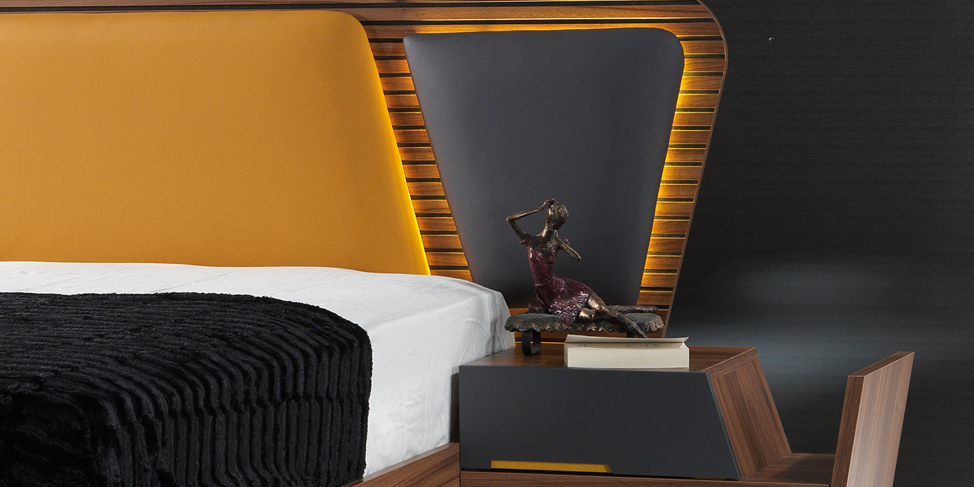 Schlafzimmer Orange Piramit Orange Schlafzimmer Komplett Set