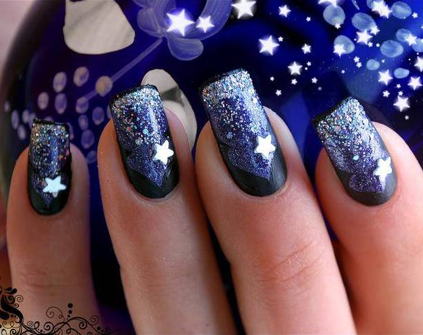 Glitter Nail Designs For Shiny Hands Yve Style