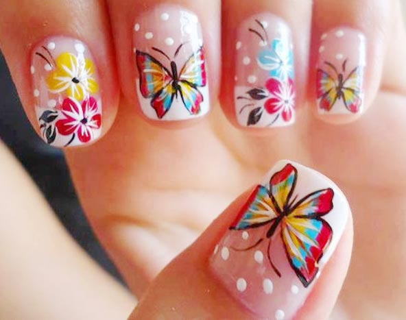 Say Quotwelcome Springquot With These Adorable Nail Designs