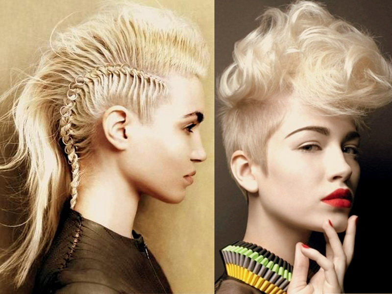 Pixie Haircut Neckline Mohawk Hairstyles For Women Yve Style
