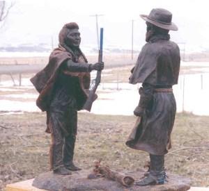 Chief Joseph's surrender at Bear Paw