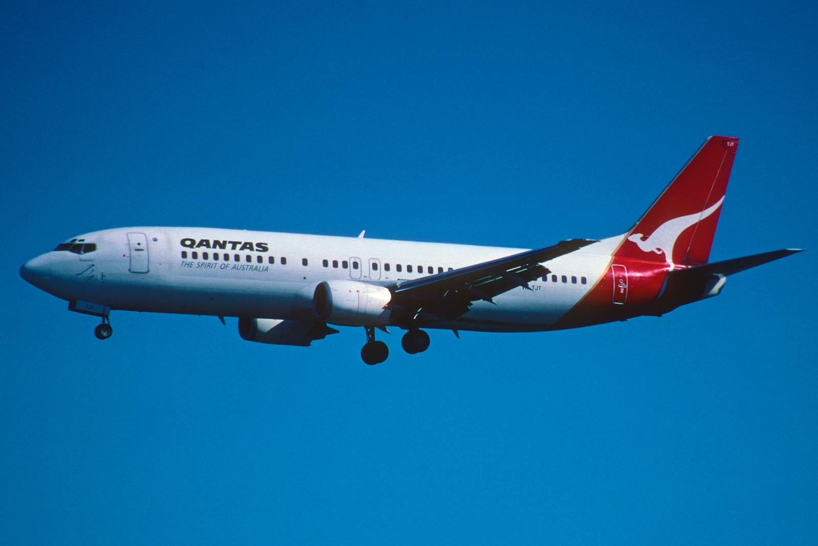 Qantas plane | YWAM Sydney, Newtown | Australia
