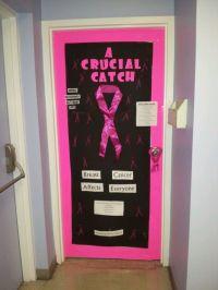 Office Door Designs For Breast Cancer