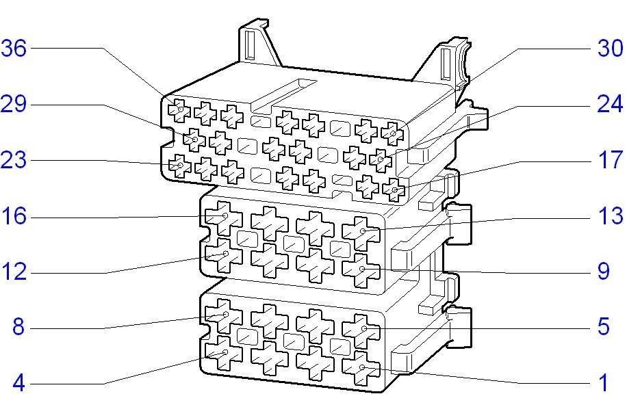 zafira stereo bedradings schema