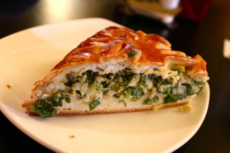 Green Onion Pierogi Pie from Stolle in Saint Petersburg, Russia via ZaagiTravel.com