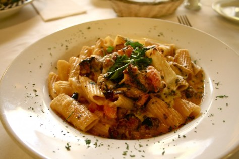 Rigatoni Al Forno at Aldolino's Italian Food Restaurant in Azusa, California via ZaagiTravel.com