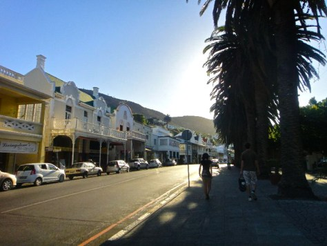 Walking back to the train in Simon's Town, South Africa via ZaagiTravel.com