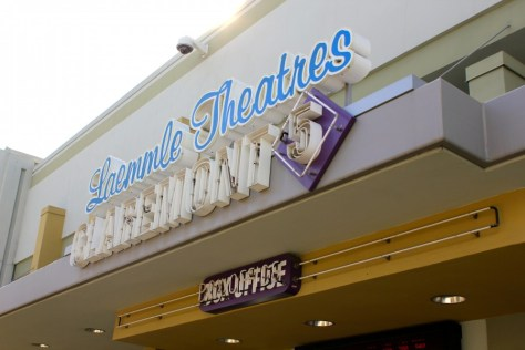 "Laemmle Movie Theater in Claremont ""Village"", California via ZaagiTravel.com"