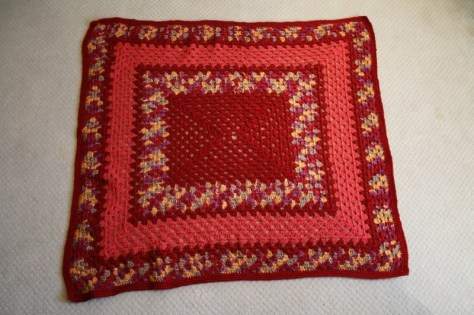 Blanket crocheted for the Egyam orphanage in Ghana, West Africa by the American Knit Wits Group via ZaagiTravel.com
