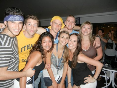 Students onboard the MV Explorer Cruise Ship from the Spring 2011 Semester at Sea Study Abroad via ZaagiTravel.com