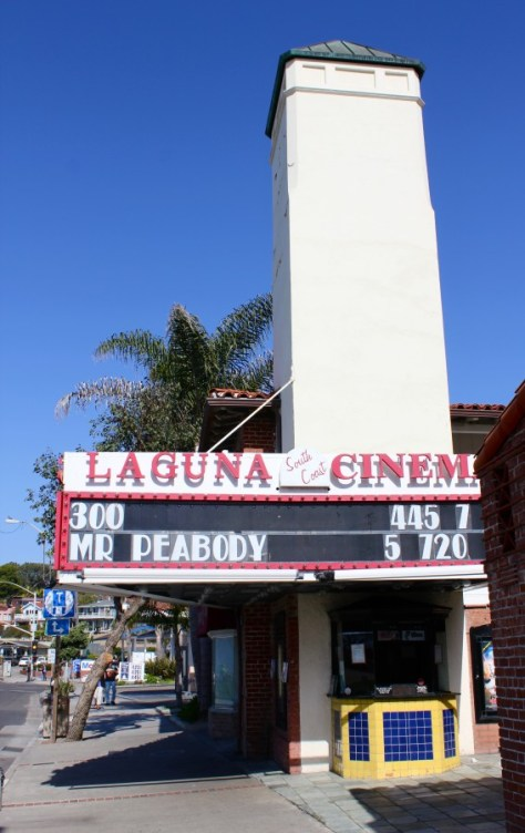 Laguna Cinema in Laguna Beach, California via ZaagiTravel.com