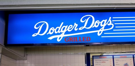 Dodger Hot Dogs at Dodger Baseball Stadium in Los Angeles, California via ZaagiTravel.com