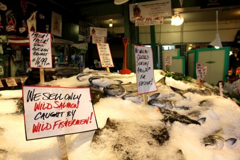 Funny sign at Pike Place Market in Seattle, Washington, United States via ZaagiTravel.com