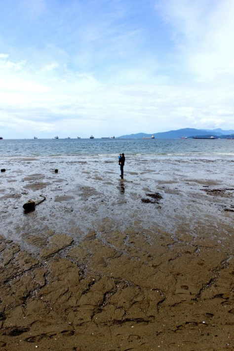Beach at Spanish Banks in Vancouver, British Columbia, Canada via ZaagiTravel.com