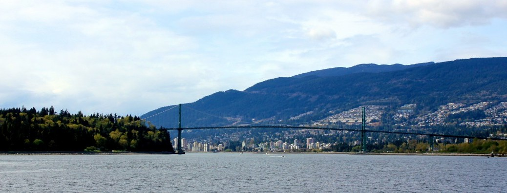 View of North Vancouver, British Columbia, Canada via ZaagiTravel.com
