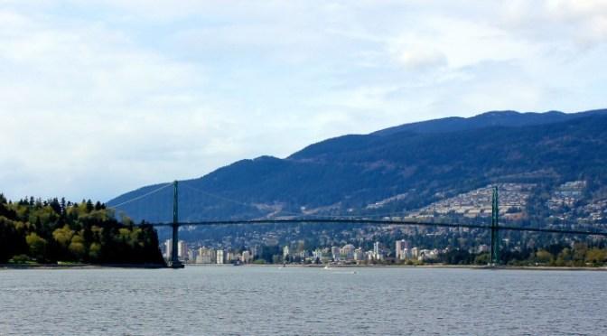 View of North Vancouver, British Columbia, Canada via ZaagiTravel.com