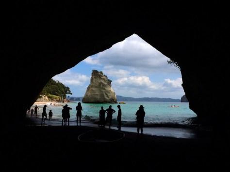 Cathedral Cove in the Coromandel, New Zealand via ZaagiTravel.com