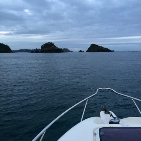 Fishing on the Hauraki Gulf in Auckland, New Zealand via ZaagiTravel.com