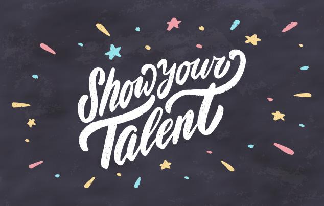 2018 Talent Show - talent show flyer