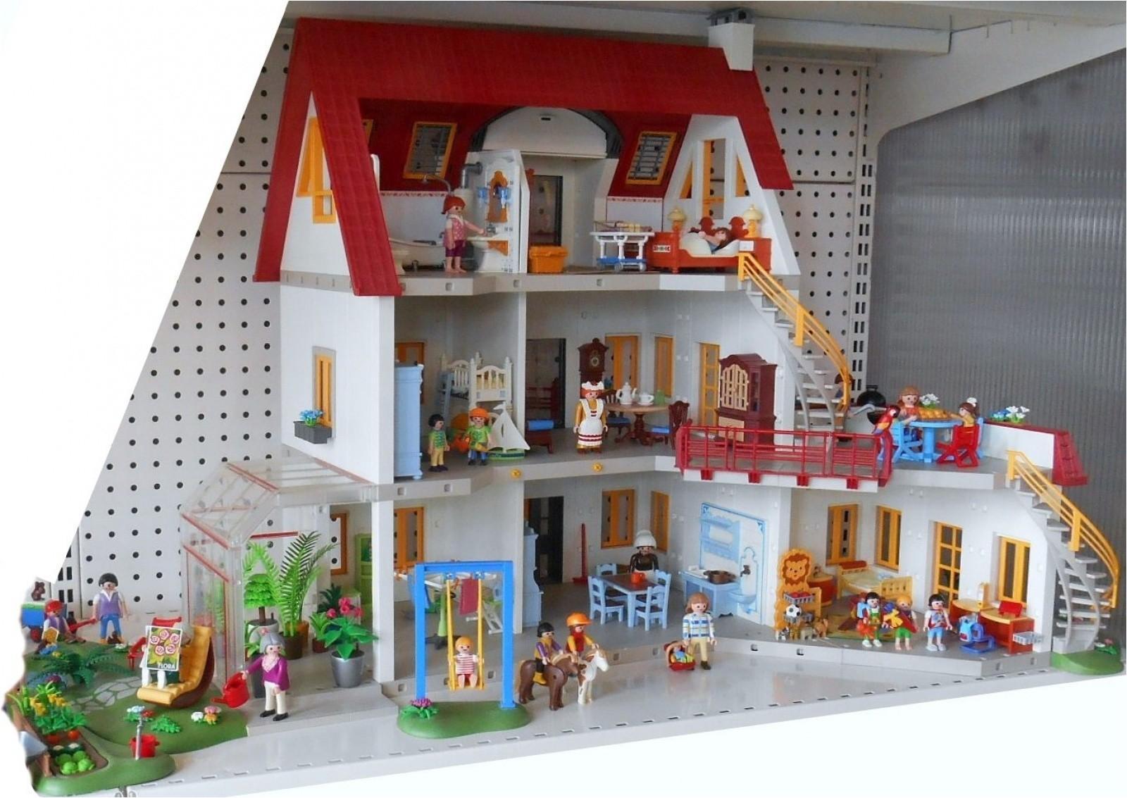 Maison Moderne Playmobil King Jouet