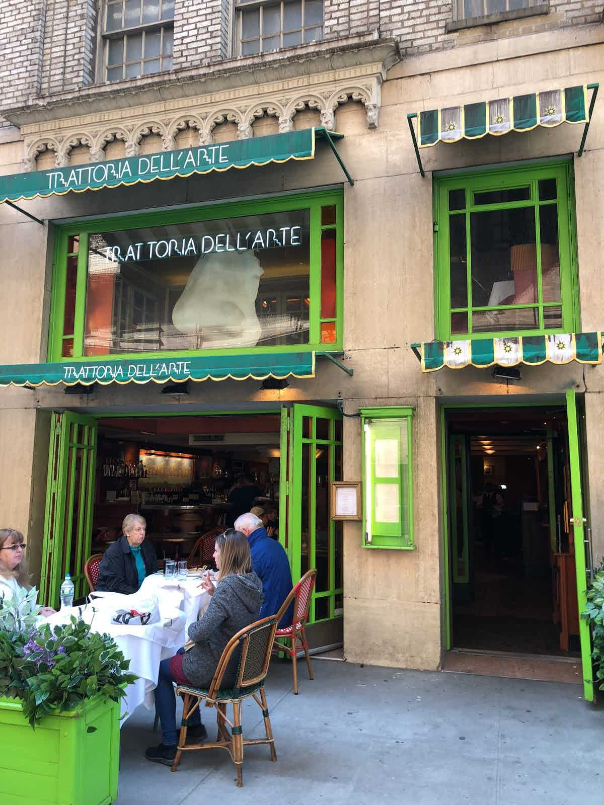 Trattoria Dell'arte Nyc Reviews Trattoria Dell Arte New York Restaurant Review Zagat