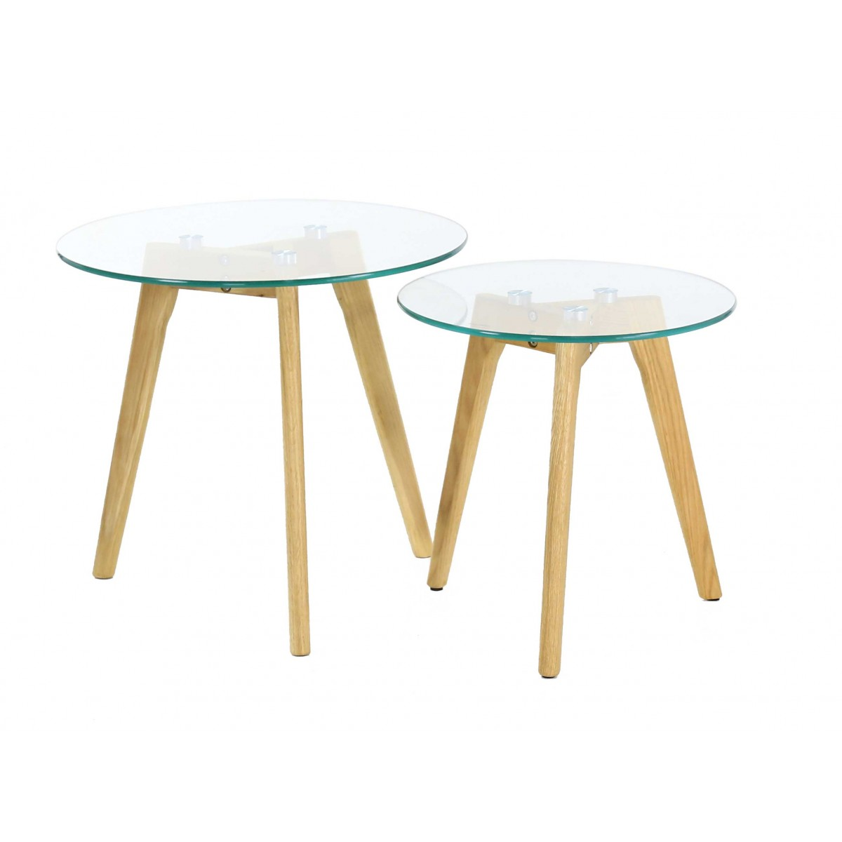 Table Basse Gigogne Design Table Basse Gigogne En Verre Design Scandie Zago Store