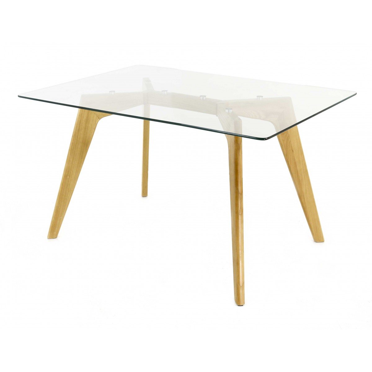 Table En Verre Scandinave Meuble Scandinave Seynod