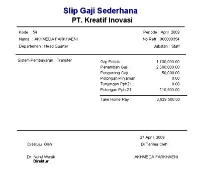 Contoh Judul Skripsi Pph 21 Kumpulan Contoh Judul Skripsi Akuntansi Manajemen Data Penggajian Dan Mereview Pajak Pph 21 Yang Sudah Dibayarkan
