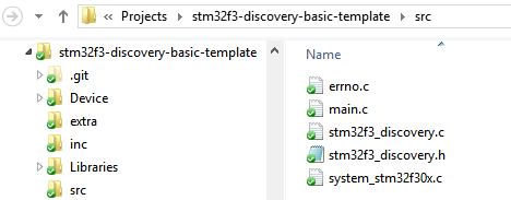 STM32F3Discovery: Basic Project Template – Part-2