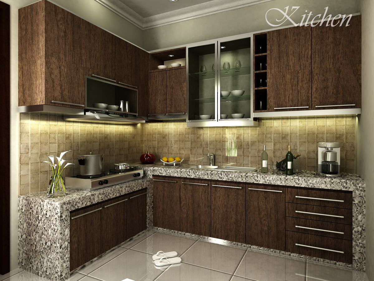 Small Kitchen Design Pictures Modern Contoh Design Kitchen Set Kami Zarissa Interior Design