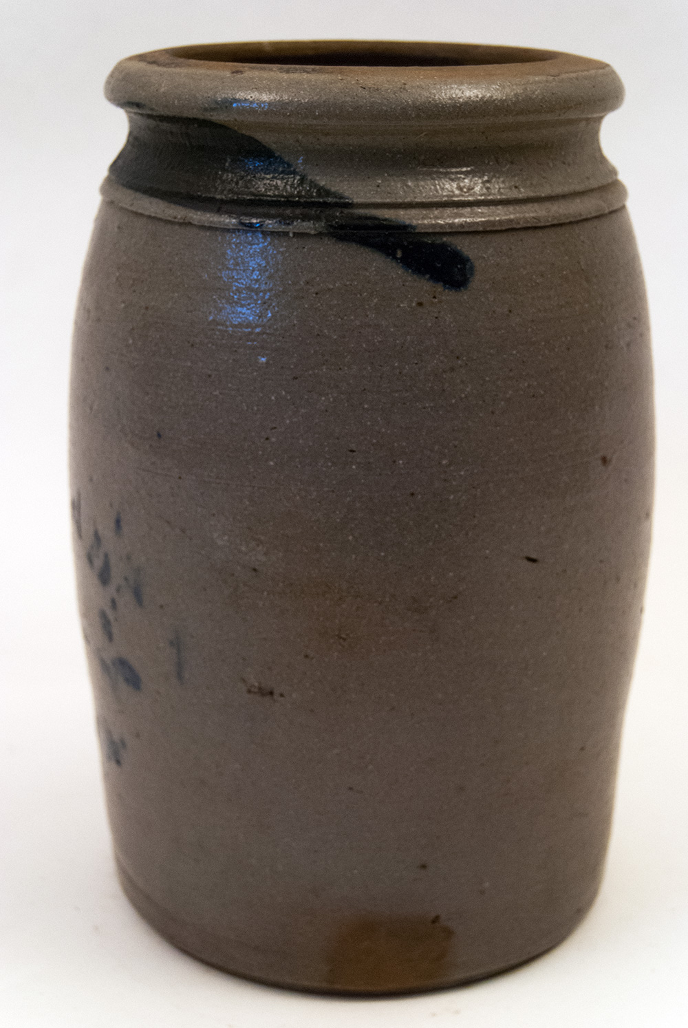 Toys Are Us A. Conrad Blue Decorated Stoneware Jar