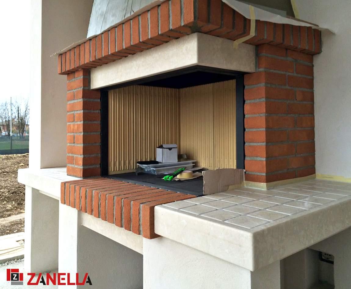 Camini In Mattoni Rossi : Caminetto mattoni lavori mattoni faccia a vista costruzioni lunardi