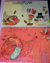 Our Thanksgiving Place Mats