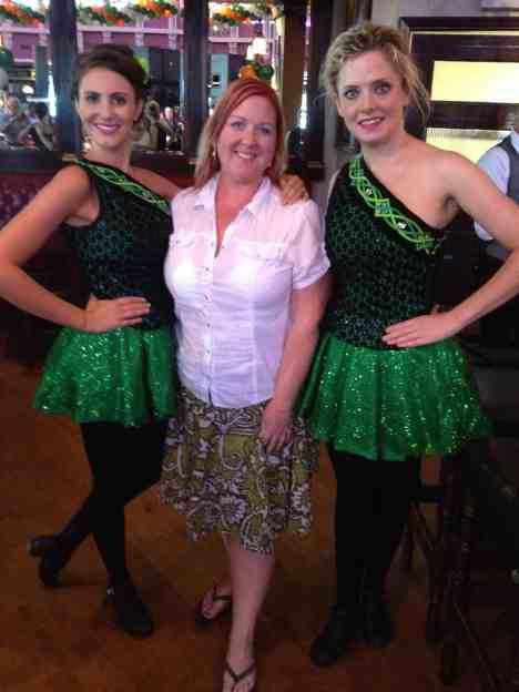 Irish Dancers and me