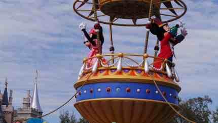 Festival of Fantasy Mickey's Airship