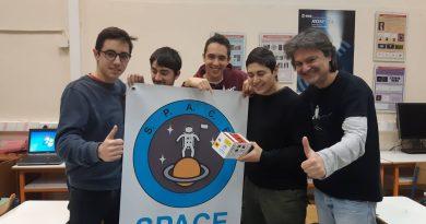 Το πείραμα των μαθητών του ομίλου SPACE εκτοξεύτηκε με επιτυχία!