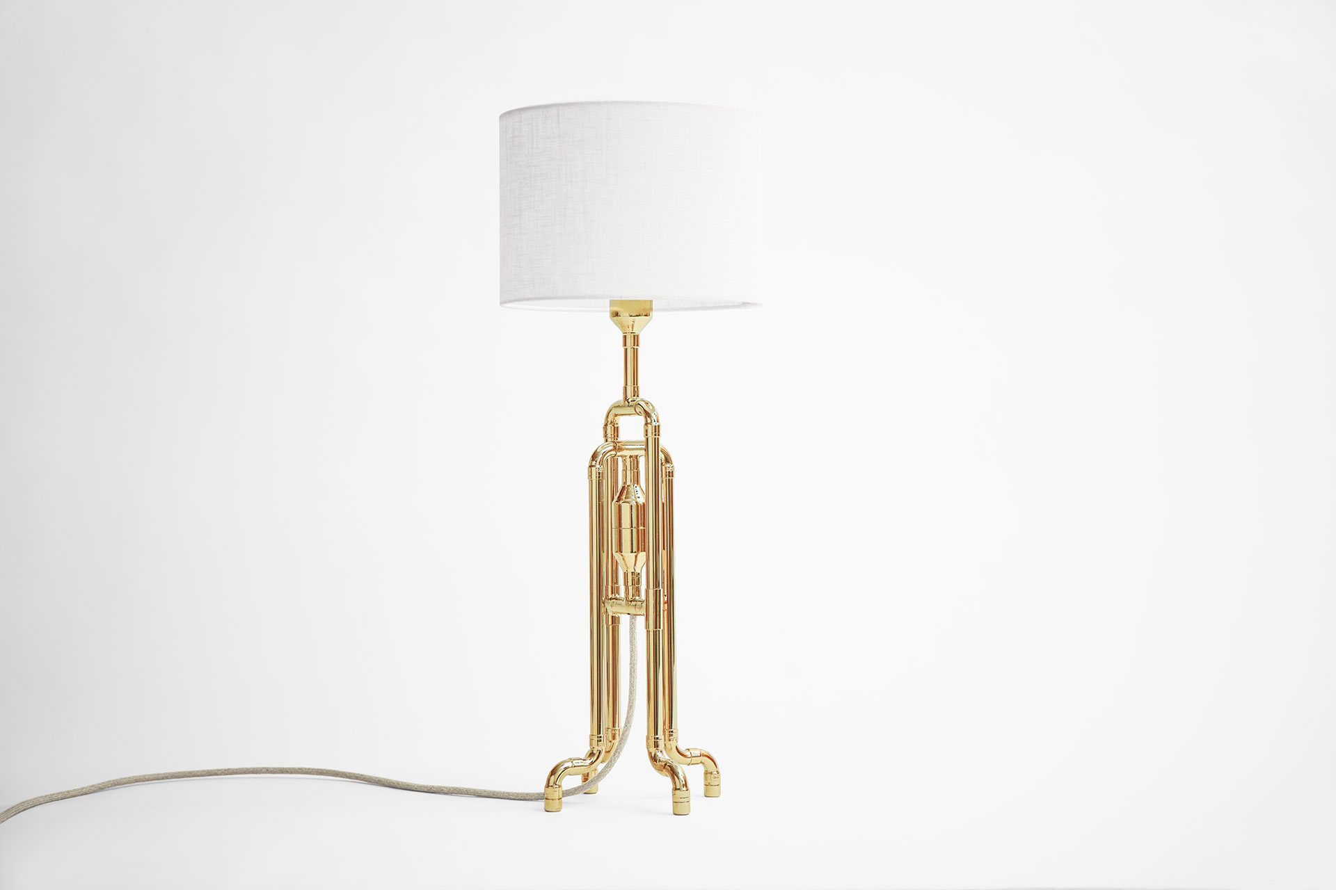 Cool Desk Lamp Unique Table Lamps In Copper Brass Nickel Or Colorful