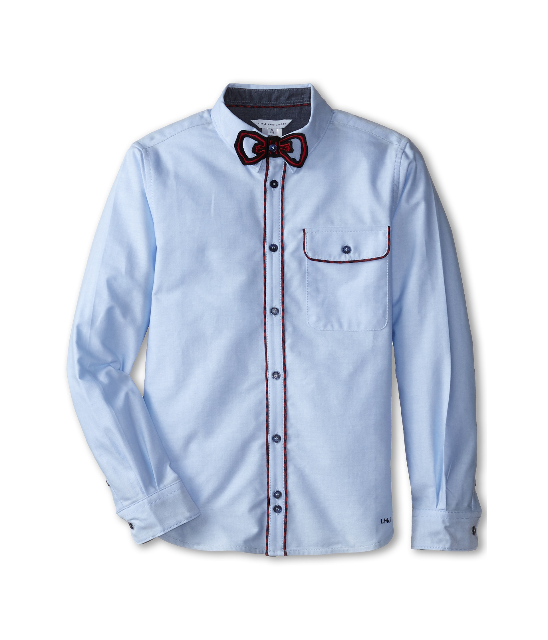Big W Bow Tie Little Marc Jacobs Shirt With Removable Bow Tie Big Kids