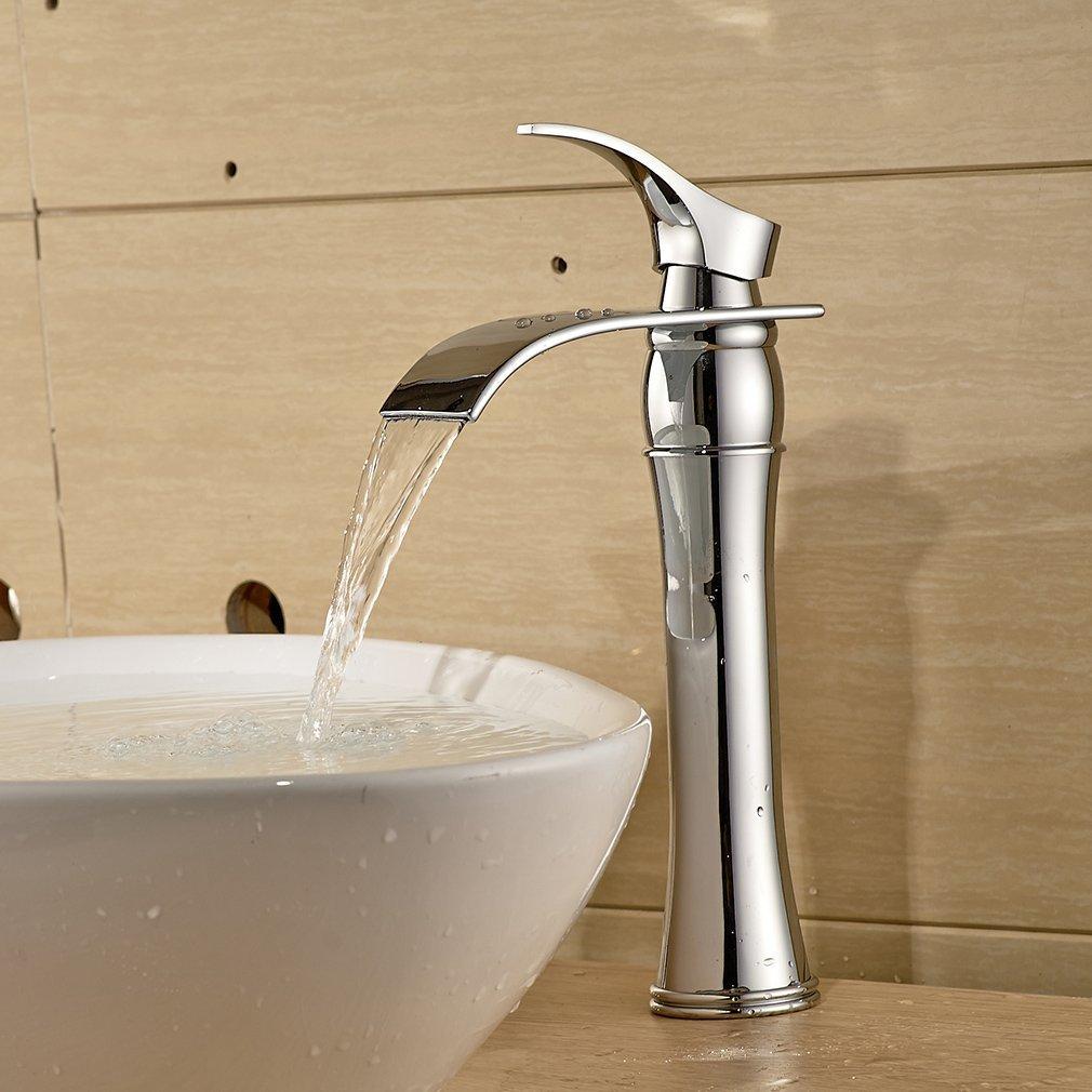 Einhebel Waschtischarmaturen Wasserfall Wasserhahn Armatur Für Badezimmer  Waschbecken