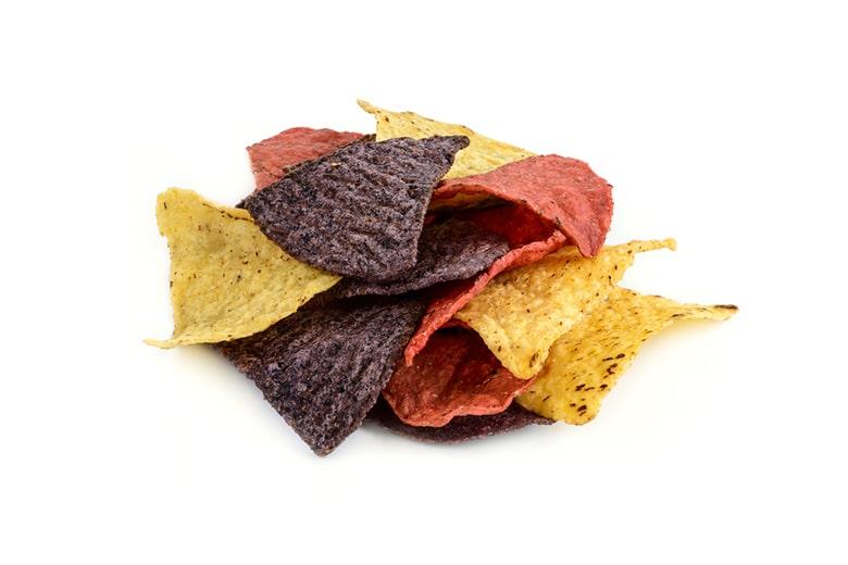 Tortilla Chips Tri Colour Salted Zast Foods