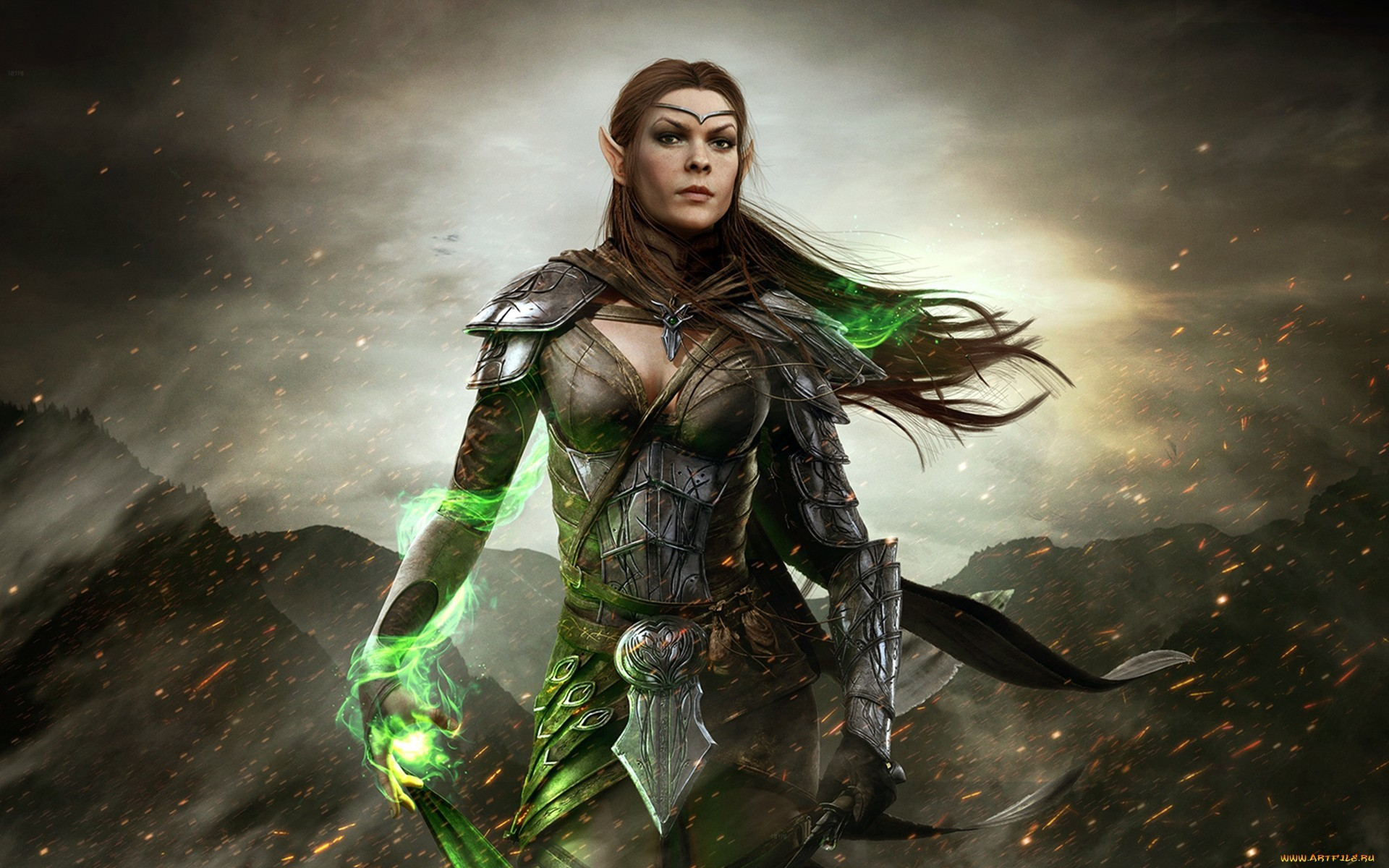 The Elder Scrolls Online Elder Scrolls Online Elf Mage Wallpapers And Images